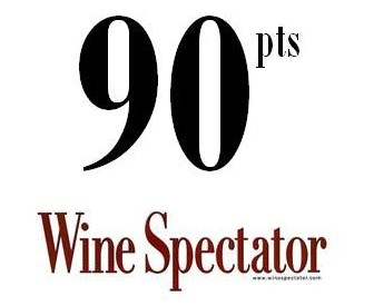 Wine Spectator 90 point score