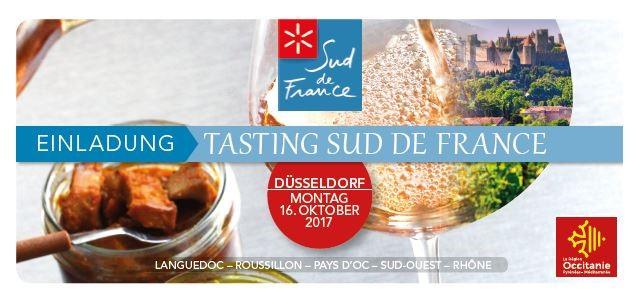 DÜSSELDORF, MONTAG 16. OKTOBER : TASTING SUD DE FRANCE
