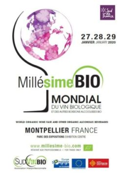 Salon «Millésime BIO» – Montpellier, 27-29 janvier