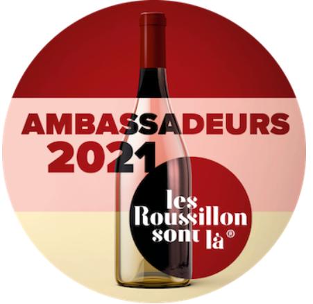 Le Domaine Rière Cadène élu AMBASSADEUR DU ROUSSILLON 2021 !